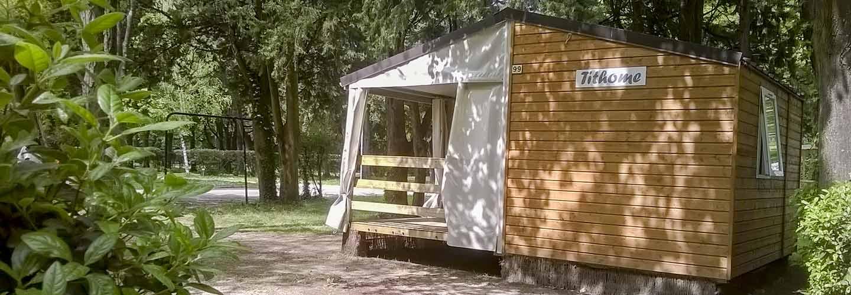Camping avec hébergements dans le Gard